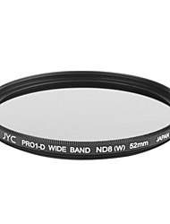 Genuine JYC Super Slim High Performance Wide Band ND8 Filter 52mm