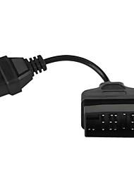 22 pin maschio a 16 pin femmina OBD II diagnostica cavo adattatore per Toyota (10 cm)