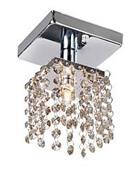 1 - la luz del cristal semi montaje empotrado con 4 colores disponibles