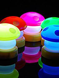 décoration de mariage champignons conduit faveurs de la lampe (set de 4 couleurs assorties)