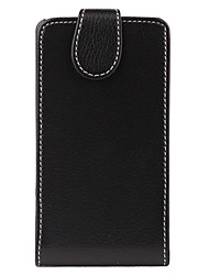 Litchi Grain Flip Style PU Leather Full Body Case for Samsung i9100 (Black)