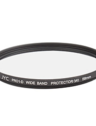 Genuine JYC Super Slim High Performance Wide Band Protector Filter 58mm