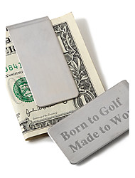 Gift Groomsman Personalized Pocket Size Money Clip