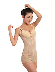 Patterned Open Bust Front Bust Closure Corset Sexy Lingerie Shaper