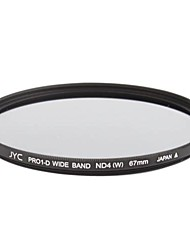 Genuine JYC Super Slim High Performance Wide Band ND4 Filter 67mm