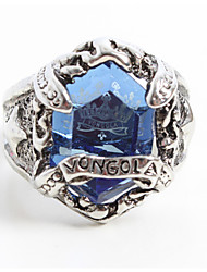 Jewelry Inspired by Reborn! Mukuro Rokudo Anime Cosplay Accessories Ring Blue Alloy / Artificial Gemstones Male