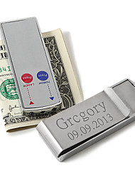 Gift Groomsman Personalized Money Clip With Laser Pointer And Flashlight