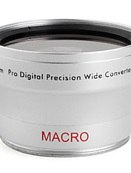 professionnelle 40.5mm 0.45x grand angle et macro lentille de conversion