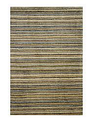 acrylique tapis tufté avec motif floral 5 '* 8'