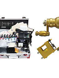 2 Rotary Tattoo Machine Kit with 14 Color Ink