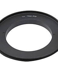 72mm Reverse Ring Adapter for Canon EOS Camera
