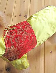 traje de estilo chino para los perros (XS - XXXL, colores surtidos)