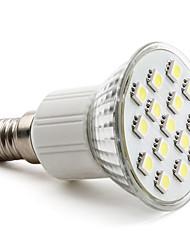 3W E14 / GU10 / E26/E27 LED Spotlight MR16 15 SMD 5050 200 lm Warm White / Natural White AC 220-240 V