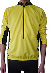 Jaggad - 50% Polyester and Coolmax Mens Long Sleeve Cycling Jersey