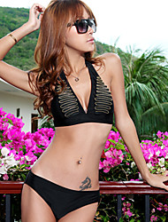 Gold Chain Separate Swimming Suit