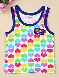 Heart Shape Print Vest
