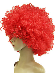 Capless Football Fans Wig Multiple Colors Available
