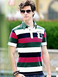Herren Kurzarm-Polo-T-Shirt