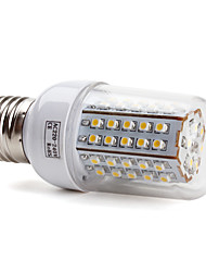 E26/E27 / B22 66 SMD 3528 430 LM Warm White T LED Corn Lights AC 220-240 V