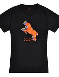 sauter ultraviolet cheval gaine résistante à court t-shirt