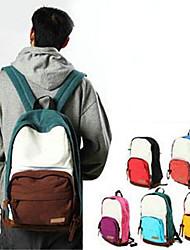 Multicolor Canvas Two Shoulders Bag(33.5cm*14cm*43.5cm)