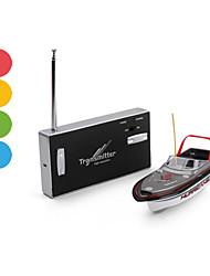 Mini Bateau Radio-Télécommandé 4 Canaux - Assortiment de Couleurs
