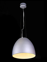 Max 40W Modern/Contemporary / Retro / Bowl Mini Style / Bulb Included Chrome Pendant Lights Living Room / Bedroom