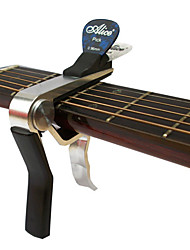 alice a007dsl-a1 capo violão acústico avançado com clipe de picaretas