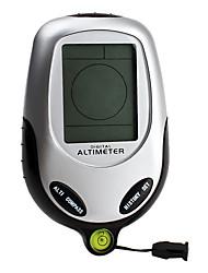 6-em-1 digital altímetro (barômetro, bússola, termômetro, tempo, tempo)