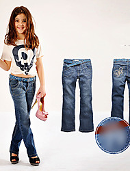Basic Girls Jeans Trousers