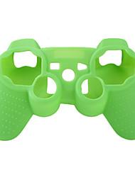 schützende Silikonhülle für PS3 Controller (grün)