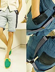 стильный мужских скобки коротких штанишках