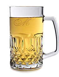 Personalized Initial Glass Mug