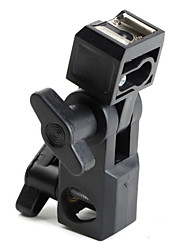 вспышка горячий башмак адаптер зонтик держателя поворотного света стенде кронштейна типа D