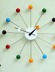"""15 """"h moderno reloj de pared de diseño de moda creativa"""