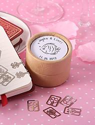personnalisé signet poissons tropicaux dans un coffret cadeau - jeu de 20