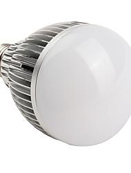 E26/E27 Ampoules Globe LED A60(A19) 12 LED Haute Puissance 1080 lm Blanc Chaud AC 85-265 V