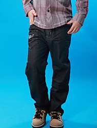 Boys Straight Tube Long Jeans