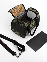Camouflage Style Pet Dogs Carrier (Small, Green)