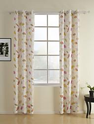 (Dois painéis) cute cortina guarda-chuva criança