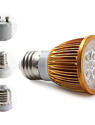 E14/E26/E27/GU10 W 4 High Power LED 360 LM Warm White MR16/PAR Spot Lights AC 85-265 V