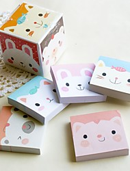 Kitty Designed Brick Notepad Favor (Set of 5)