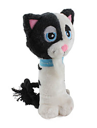 suave suave gato mascota chirriante juguete para perros (19 x 9 cm)