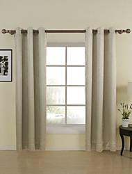 dos paneles neoclásicos paisley salón amarillento cortinas de paneles de poliéster cortinas