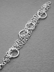 d'argent de la mode bracelet plaqué certaines femmes ternes cercle de Pologne