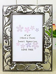 Morning-glory Silver Alloy Photo Frame