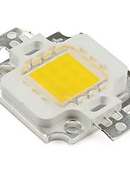 DIY 9-12V 900mA 10W 800LM Warm White LED Emitter