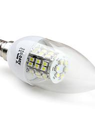 3W E14 Ampoules Bougies LED C35 48 SMD 3528 200 lm Blanc Naturel V