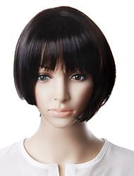 Capless High Quality Natural Look Black Bob Hair Wig