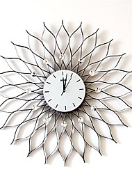 "31""H Creative Iron Wall Clock"